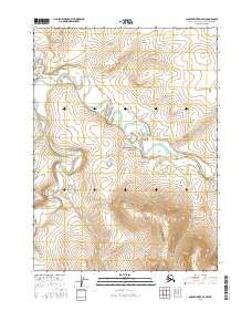 Topo map Ambler River D-4 SW Alaska