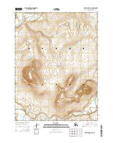 Topo map Ambler River D-5 SE Alaska