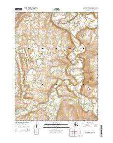 Topo map Ambler River D-5 SW Alaska