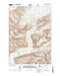 Topo map Anchorage A-2 NE Alaska