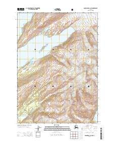 Topo map Anchorage A-2 NW Alaska