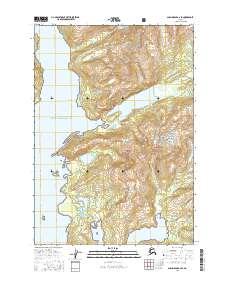 Topo map Anchorage A-2 SE Alaska