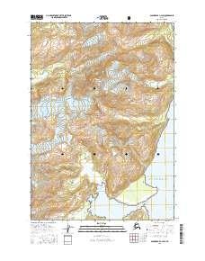 Topo map Anchorage A-2 SW Alaska