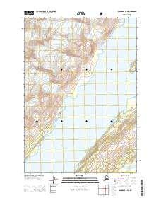 Topo map Anchorage A-3 NE Alaska