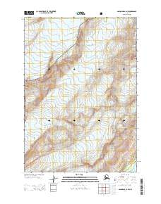 Topo map Anchorage A-3 NW Alaska