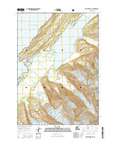 Alaska Topo Map Anchorage A 3 Se