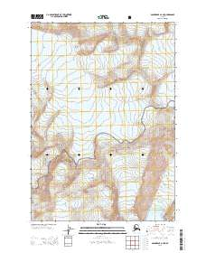 Topo map Anchorage A-4 NE Alaska