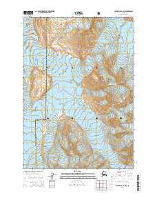 Topo map Anchorage A-4 NW Alaska