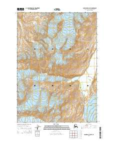 Topo map Anchorage A-5 NW Alaska