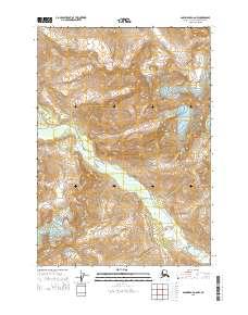 Topo map Anchorage A-6 NW Alaska