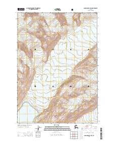 Topo map Anchorage B-2 SW Alaska