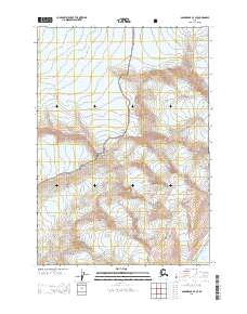 Topo map Anchorage B-3 SE Alaska