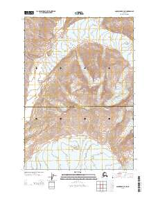 Topo map Anchorage B-4 NE Alaska