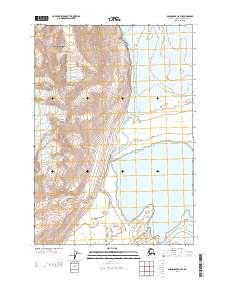 Topo map Anchorage B-5 SE Alaska