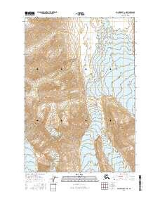 Topo map Anchorage C-1 NE Alaska