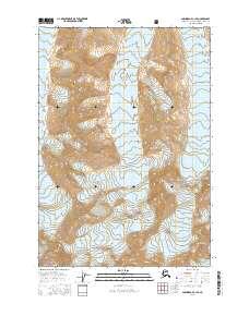 Topo map Anchorage C-1 SE Alaska