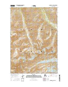 Topo map Anchorage C-4 NW Alaska