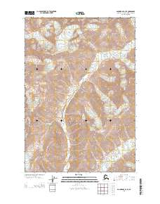 Topo map Anchorage C-4 SE Alaska