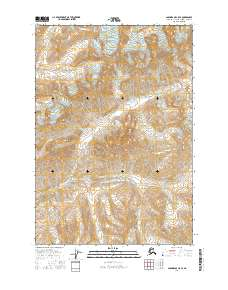 Topo map Anchorage C-5 SE Alaska