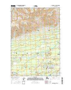 Topo map Anchorage C-7 NE Alaska