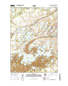 Topo map Anchorage C-8 SW Alaska