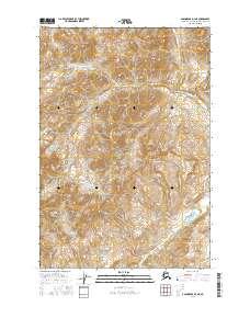 Topo map Anchorage D-3 NE Alaska