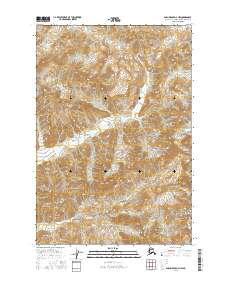 Topo map Anchorage D-3 NW Alaska