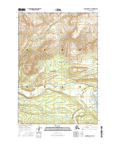 Topo map Anchorage D-3 SE Alaska