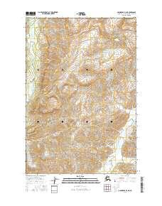 Topo map Anchorage D-4 NE Alaska
