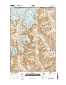 Topo map Anchorage D-5 NW Alaska