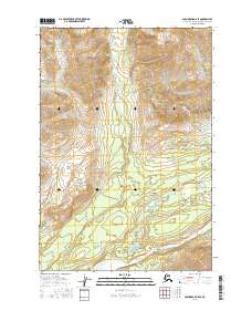 Topo map Anchorage D-5 SE Alaska