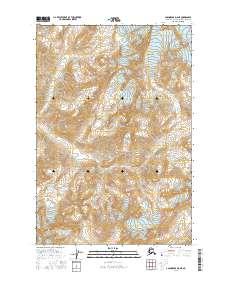 Topo map Anchorage D-6 NE Alaska