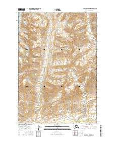 Topo map Anchorage D-6 SE Alaska