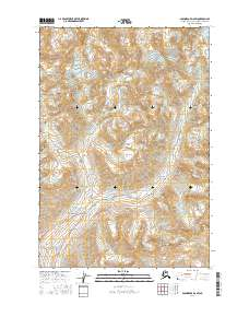 Topo map Anchorage D-6 SW Alaska