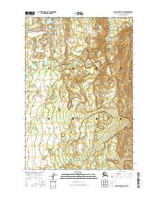 Topo map Anchorage D-8 NW Alaska