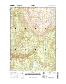 Topo map Anchorage D-8 SE Alaska