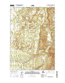 Topo map Anchorage D-8 SW Alaska