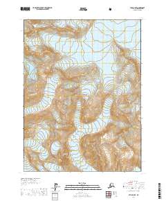 Topo map Atlin A-8 SE Alaska