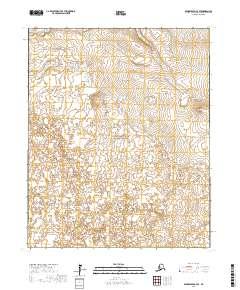 Topo map Bendeleben C-4 SE Alaska