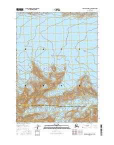 Topo map Bering Glacier C-6 SE Alaska