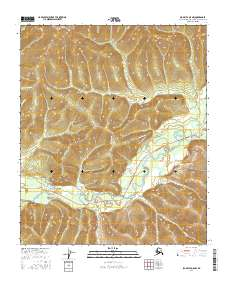 Topo map Big Delta D-5 NW Alaska