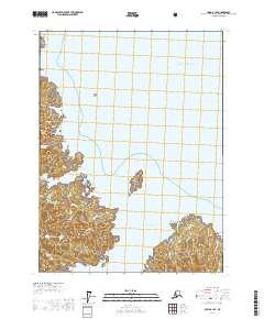 Topo map Craig B-1 SE Alaska