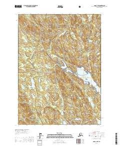 Topo map Craig C-2 NW Alaska