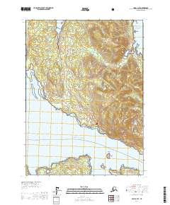 Topo map Craig C-2 SE Alaska