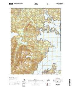 Topo map Craig C-2 SW Alaska