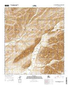Topo map De Long Mountains A-4 NE Alaska