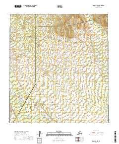 Topo map Denali A-5 NW Alaska