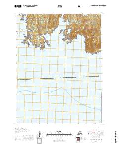 Dixon Tennessee Map.Alaska Topo Map Dixon Entrance C 1 Nw
