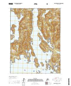 Dixon Tennessee Map.Alaska Topo Map Dixon Entrance D 2 Ne