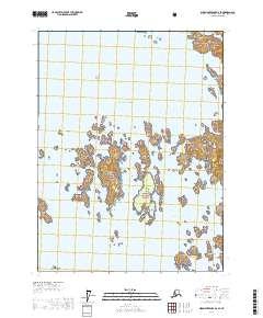 Topo map Dixon Entrance D-2 SE Alaska